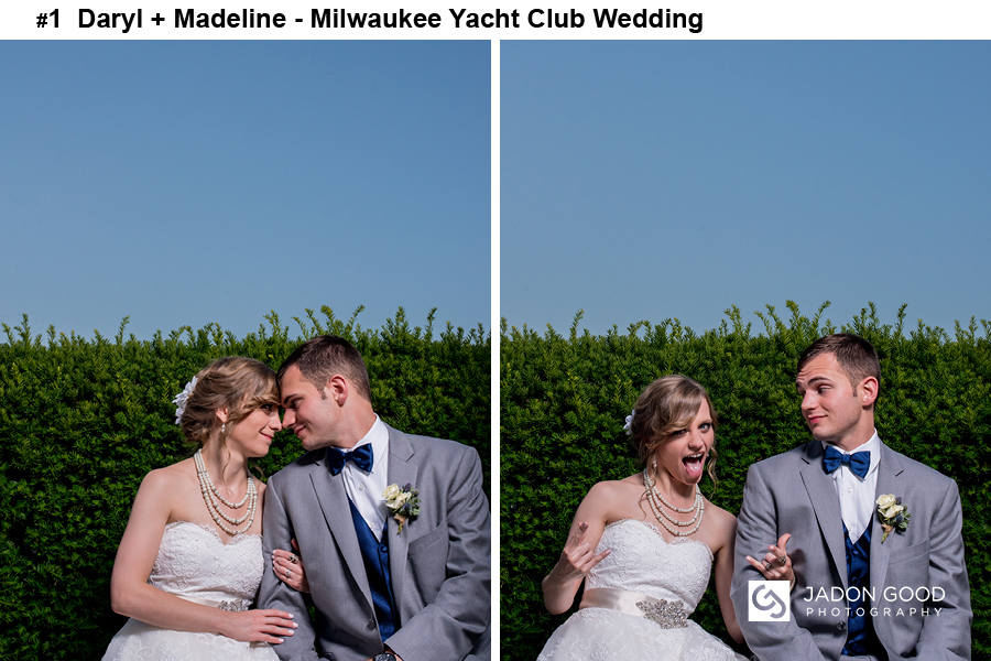 #1 Daryl + Madeline Milwaukee Yacht Club Wedding