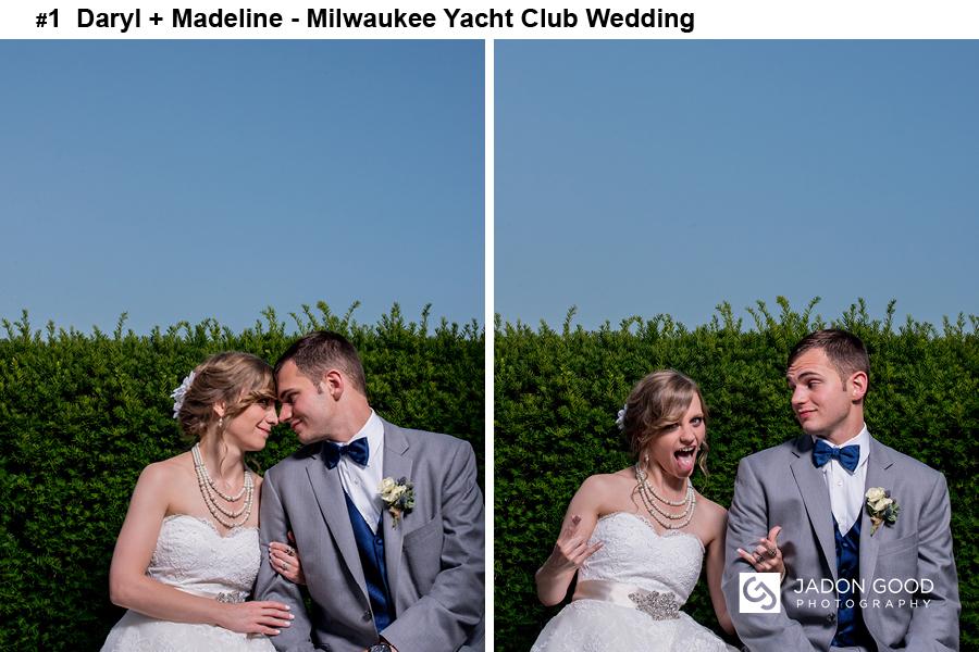 #1 Daryl + Madeline Milwaukee Yacht Club Wedding
