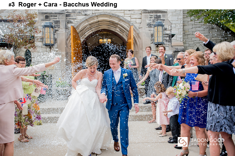 #3 Roger + Cara Bacchus Wedding