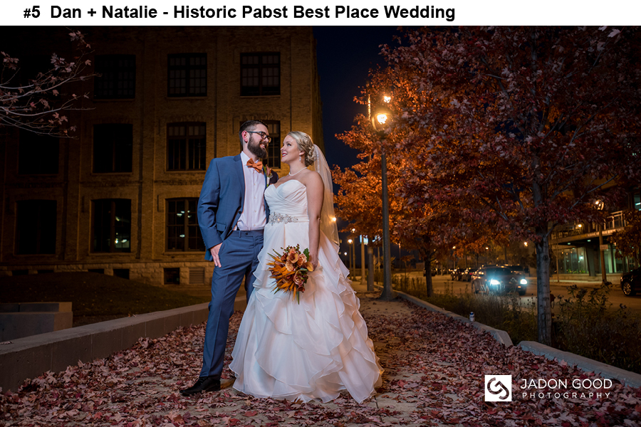 #5 Dan + Natalie Historic Pabst Best Place Wedding