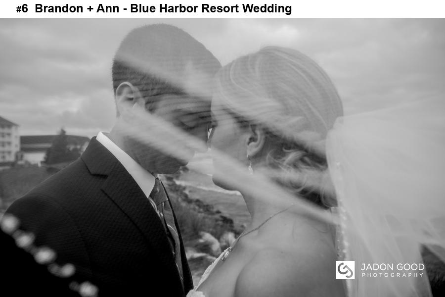 #6 Brandon + Ann Blue Harbor Resort Wedding