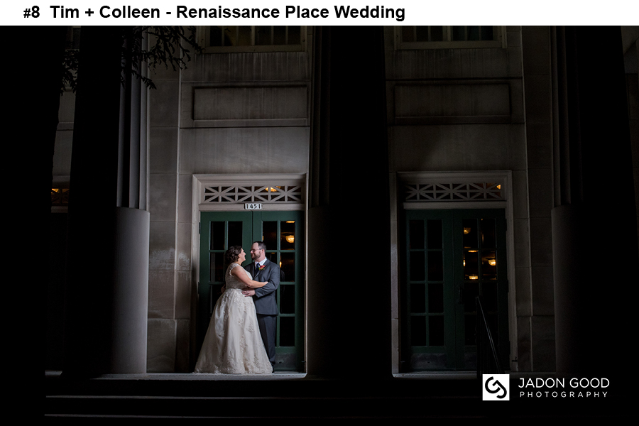 #8 Tim + Colleen Renaissance Place Wedding