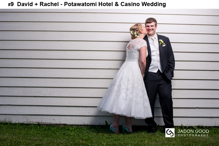 #9 David + Rachel Potawatomi Hotel and Casino Wedding