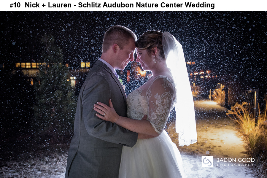 #10 Nick + Lauren Schlitz Audubon Nature Center Wedding