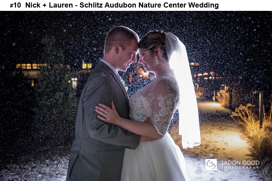 #10 Nick + Lauren Schlitz Audubon Nature Center Wedding