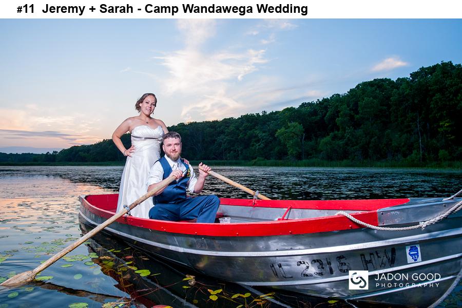 #11 Jeremy + Sarah Camp Wandawega Wedding