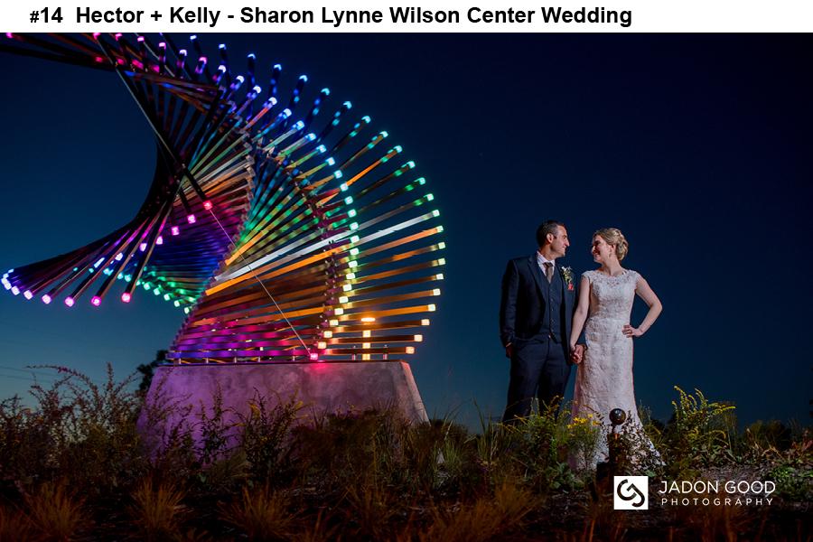 #14 Hector + Kelly Sharon Lynne Wilson Center Wedding