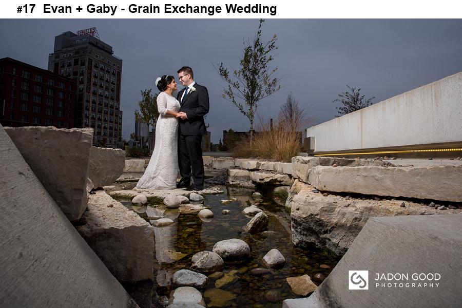 #17 Evan + Gaby Grain Exchange Wedding
